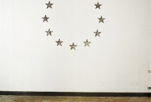 Exchange, site-specific installation, direct intervention on the wall, 225 cm x 225 cm. American Academy in Rome, 2008